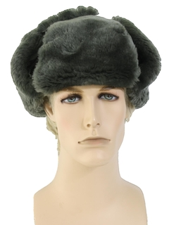 1980's Mens Accessories - Military Winter Hat