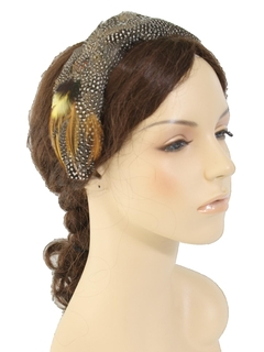 1960's Womens Accessories - Headband Hat