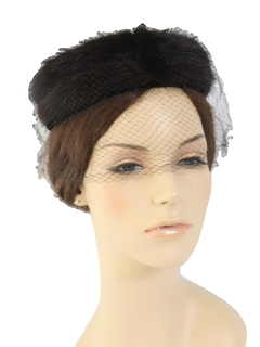 1960's Womens Accessories - Ring Hat