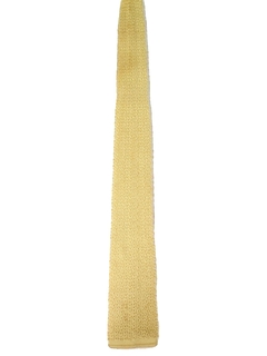 1970's Mens Flat Bottom Knit Necktie
