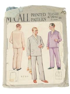 1920's Mens Pattern