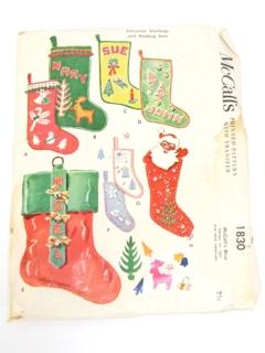 1950's Unisex Christmas Pattern