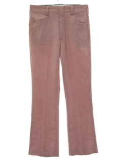 1970's Mens Flared Leisure Style Mod Pants