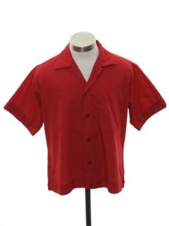 1960's Mens Bowling Sport Shirt