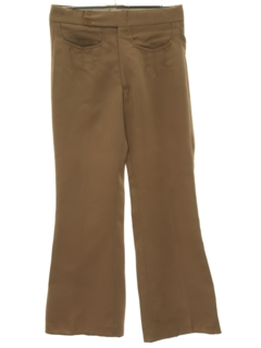 1970's Mens Flared Western Style Mod Bellbottoms Pants