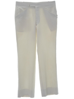 1970's Mens Golf Style Leisure Pants