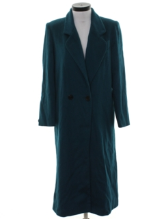 1980's Womens Totally 80s Duster Coat Jacket