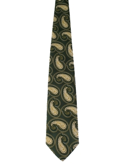 1970's Mens Wide Disco Necktie