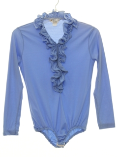 1970's Womens Unitard Shirt