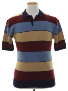 1980's Mens Knit Shirt