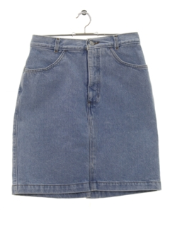 1990's Womens Wicked 90s Denim Skirt