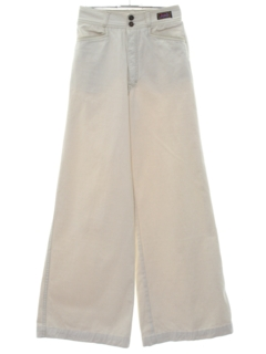 1980's Womens Bellbottom Denim Jeans Pants