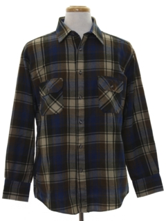 1980's Mens Flannel Shirt
