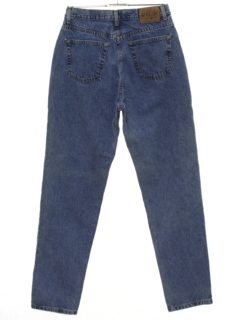 1980's Womens Tapered Leg Denim Jeans Pants