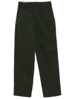 1980's Mens Military Work Pants Slacks