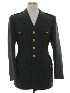 1960's Mens Army Military Jacket