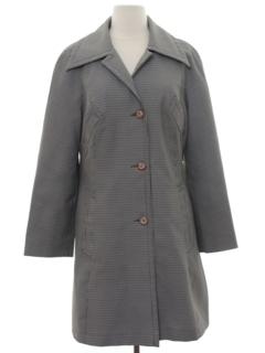 1970's Womens Mod Gabardine Jacket