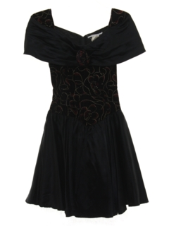 1990's Womens Wicked 90s Mini Prom Or Cocktail Dress