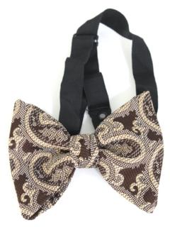 1980's Mens Designer Bowtie Necktie
