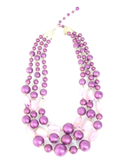 1960's Womens Accessories - Jewelry Necklace