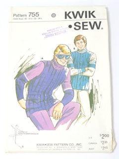 1980's Mens/Boys Pattern