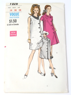 1960's Womens Mod Maternity Pattern