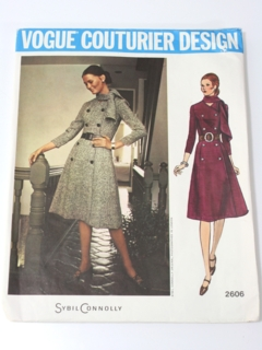 1960's Womens Designer Pattern