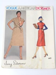 1970's Womens Designer Pattern