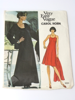 6ab9eedd11351 Womens Vintage Vogue Patterns at RustyZipper.Com Vintage Clothing