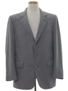 1980's Mens Blazer Sport Coat Jacket