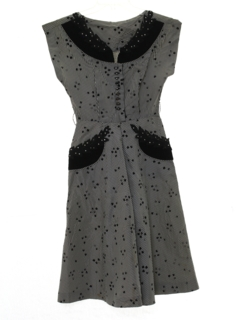 1940's Womens or Girls Cocktail Dress