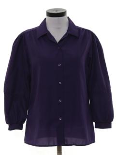 1970's Womens Secretary Shirt