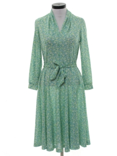 1970's Womens Secretary Dress