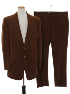 1970's Mens Western Style Disco Suit