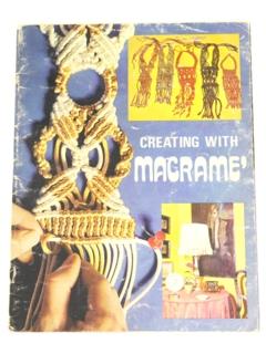 1970's Macrame Pattern Book