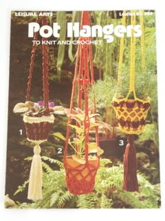 1970's Faux Macrame Pattern Book