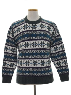 1990's Mens Ski Sweater