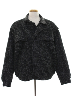 1980's Mens Totally 80s Wool Jacket