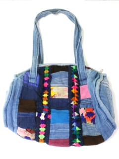 1970's Womens Accessories - Denim Hippie Purse
