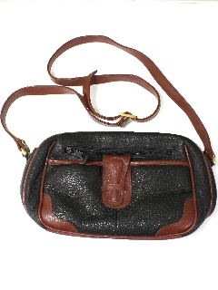 1990's Womens Accessories - Leather Dooney And Bourke Style Purse