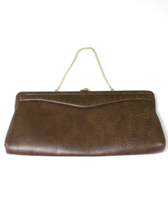 1950's Womens Accessories - Faux Leather Purse