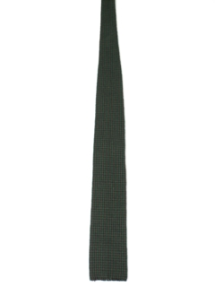 1950's Mens Wool Square Bottom Necktie