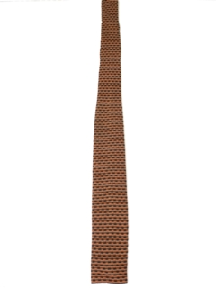 1960's Mens Square Bottom Necktie