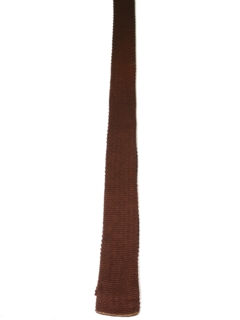 1950's Mens Knit Square Bottom Necktie