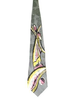 1940's Mens Wide Necktie