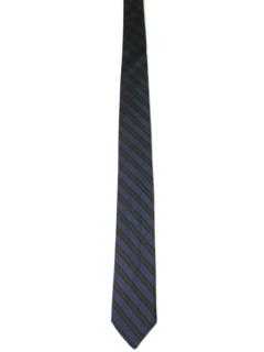 1960's Mens Diagonal Skinny Necktie