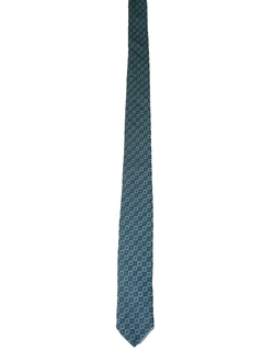 1980's Mens Totally 80s Skinny Necktie