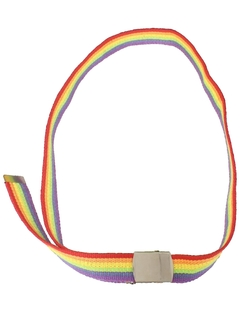 1980's Unisex Accessories - Rainbow Belt