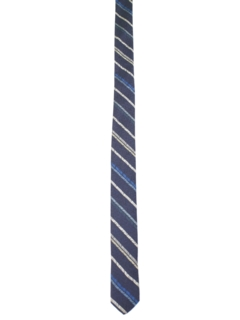 1980's Mens Totally 80s Skinny Diagonal Necktie