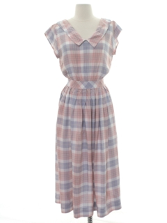 1980's Womens Mod Day Dress